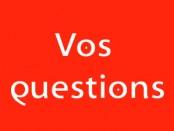 Vos questions - Se nourrir